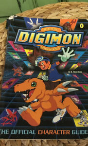 vintage 2000 digimon character guide