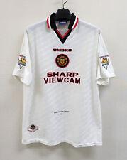 1996-97 Manchester United Away No.7 CANTONA S/S EPL sz XL jersey Shirt Trikot