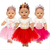 Doll Dress Set For 43cm 18 Inch Girl Doll Coat Doll Accessories Baby Birthday