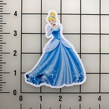 "Disney Princess Cinderella 4"" Tall Vinyl Decal Sticker BOGO"