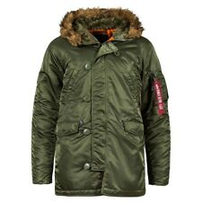 Alpha Industries Slim Fit N-3B Parka Coat Nylon N3B  MJN31210C1