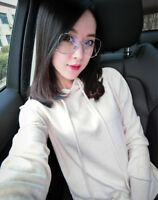 2018 New Women's Cashmere Sweater Female Loose Wool Sweater Stars Hoodie Sweater