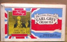Metropolitan Earl Grey Cream Tea in Wood Box - 25 ct - Factory Fresh -