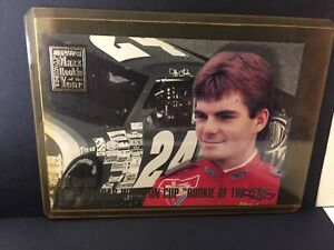 Jeff Gordon NASCAR Winston Cup Rookie of the year 1993 Maxx trading card BB2 OG