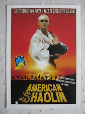 Filmplakatkarte videoplus  American Shaolin  Reese Madigan, Trent Bushey