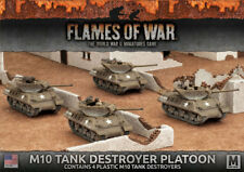 Flames of War NUOVO CON SCATOLA M10 3-Inch Tank Destroyer PLATOON (Plastica) UBX53