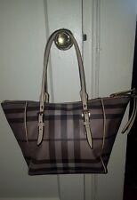 BURBERRY SMOKED NOVA CHECK Shoulder Handbag