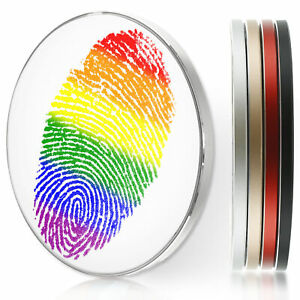 Wireless Charger For Apple Iphone 11/XS/8/Samsung S10/S9 - Rainbow Paint Print