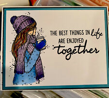 Stampin Up Card Kit Girl Encouragement Hope Together