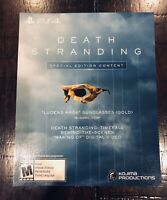 Death Stranding Special Edition Content PS4 Collector's Edition DLC Slip NO GAME