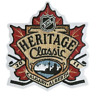 2011 Heritage Classic Game Calgary Flames Montreal Canadiens Jersey Patch Hockey