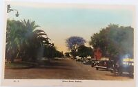 .c1930's GRAFTON , NSW PRINCE STREET REAL PHOTO COLOUR POSTCARD. VERY NICE !!!