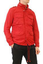 Deus Ex Machina Veste Homme Taille M, rouge BARENS color, 4 poches sur le devant BCF56