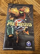 Metroid Prime GameCube [Instruction Booklet Only]