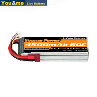 14.8V 4S 4500mAh 60C Deans Lipo Battery for RC Helicopter Airplane Boat Truck