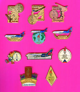 1996 OLYMPIC PINS DELTA AIRLINES PINS PICK A PIN 1-2-3-- BUY THEM ALL PINS