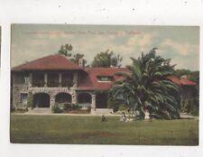 Superintendents Lodge Golden Gate Park San Francisco USA Vintage Postcard 898a