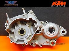 1998 KTM 300 380 250 MXC Engine Left Crank Case Crankcase Bottom End Cases Half