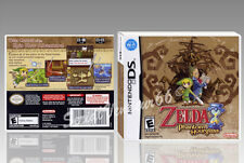"BOITIER ""LEGEND OF ZELDA THE PHANTOM HOURGLASS"". DS, SANS LE JEU. NO GAME."