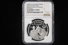 """2012 Canada. $20 Dollars. """"Queen's Visit, RCMP"""". NGC Graded PF-70 UCAM."""