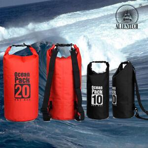 Alientech Sports Waterproof Dry Bag Backpack Pouch Floating Beach Kayak Swim Lot