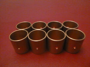 58-64 FORD,MERC,EDSEL332,352,361,390,406,427,428 FULL BRONZE PISTON PIN BUSHINGS