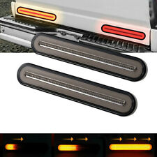 2x 12-24V LED sequential Trailer Truck Stop Turn Signal Brake Tail Strip Light