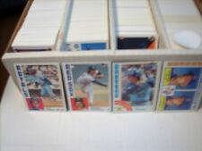 1984-Topps baseball pick  40 cards 1985 Topps baseball pick 40 cards