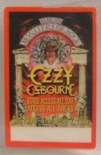 Ozzy Osbourne - Original Monsters Of Rock Laminate Concert Backstage Pass