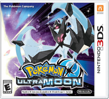 Pokemon Ultra Moon Nintendo 3DS Game Pre-Sale