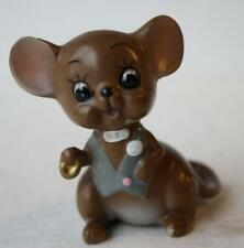 Josef Originals Groom Mouse Figurine From The Mouse Village Series-Porcelain