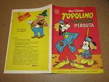 WALT DISNEY ALBO D'ORO N°12 TOPOLINO E LA LEGIONE PERDUTA 27-03-1955