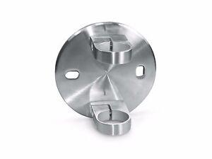 Stainless steel side fix post bracket for 48.3mm Grade 316