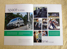 Vauxhall Zafira A Active Special Edition brochure 2004 Models