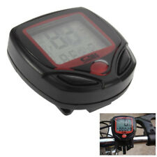 Digital Bicycle Bike LCD Cycling Computer Odometer Speedometer Stopwatch