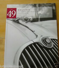 BROOKS AUCTION CATALOGUE SALE 49 COLLECTORS MOTOR CARS OLYMPIA LONDON MAY 1996
