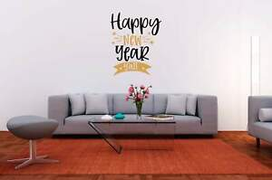 Happy New Year Y'all Vinyl Decal for DIY Signs, Walls, Wood, Metal, New Year's E