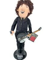 John Lennon 1987 Applause Beatles Forever Cloth Doll with Stand NEW With TAGS