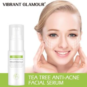 Tea Tree Oil Anti Acne Scar Removal Shrink Pores Whitening Anti-Aging Skin Care