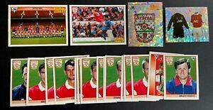 Merlin Premier League 96 Stickers - Arsenal Team Set (x24)