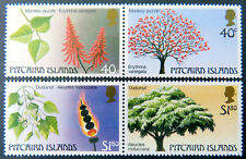 1987 Pitcairn Islands Stamps - Trees Part II - Set 4 (Pairs) MNH