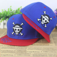 Anime One Piece Luffy's Pirates cotton baseball cap Sun hat cosplay gift Hip-hop