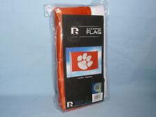 Clemson Tigers   3' x 5'  BANNER FLAG   by RICO    NIP