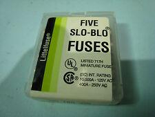 10 Stück Littelfuse Five Fuses  Fuse 10A