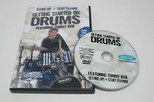 Getting Started on Drums Tommy Igoe DVD Hudson Music How To Setup Play Lesson