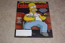 THE SIMPSONS MOVIE * HOMER July 27 2007 ENTERTAINMENT WEEKLY MAGAZINE #945