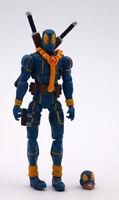 4'' Marvel Universe Gift Blue Deadpool X-Men Action Figure Loose Super Hero Toy