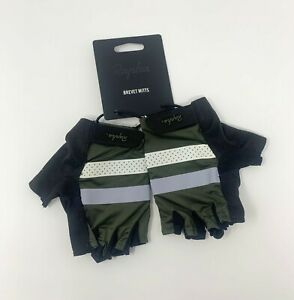 Rapha Brevet Reflective Cycling Gloves Green Large Brand New With Tag