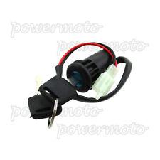 Two position 2 Wire Key Switch For Electric Mini Moto Dirt Pocket Bike ATV