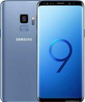 Samsung Galaxy S9 SM-G960 - 64GB - Coral Blue AT&T Black Dot